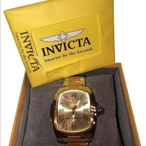 Invicta men's special edition champagne dial